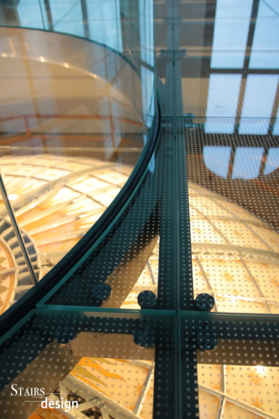 skleněná podlaha Národní muzeum