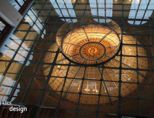 Národní muzeum Praha – skleněná podlaha
