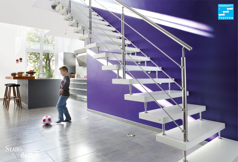 samonosné laminátové schodiště