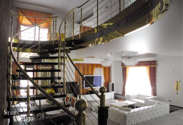Samonosné kamenné schodiště
